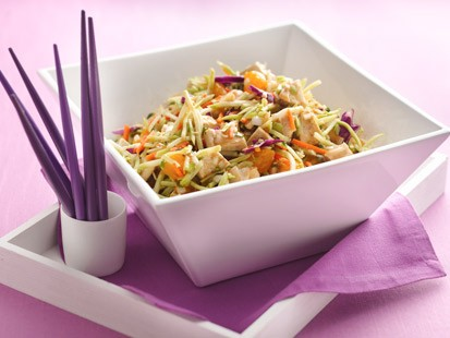 Hungry Girls Scoopable Chinese Chicken Salad Recipe Abc News