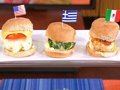 Reed Alexanders breakfast sliders.