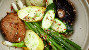 Adam Perry Langs Grilled Vegetables