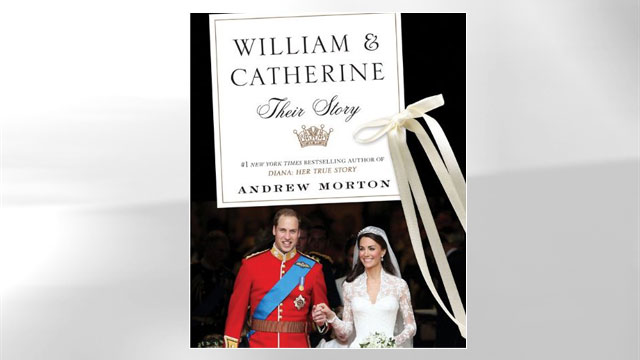 "PHOTO: Andrew Mortons book, ""William & Catherine: Their Story"""