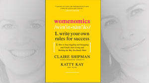 """PHOTO The book cover for the book """"Womenomics,"""" by Claire Shipman and Katty Kay is shown."""