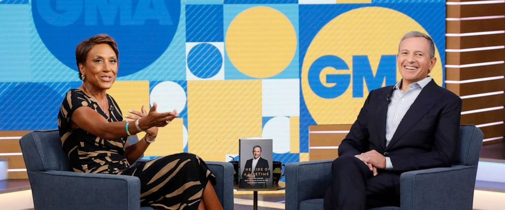 "PHOTO: Chairman and Chief Executive Officer of the Walt Disney Company Bob Iger is a guest on ""Good Morning America,"" September 23, 2019 on the Walt Disney Television Network."