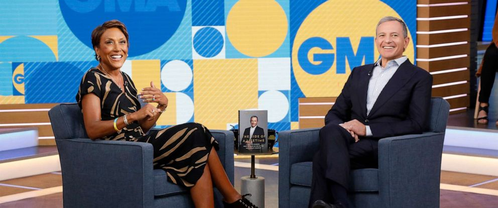 "PHOTO: Chairman and Chief Executive Officer of the Walt Disney Company Bob Iger is a guest on ""Good Morning America,"" September 23, 2019, on the Walt Disney Television Network."
