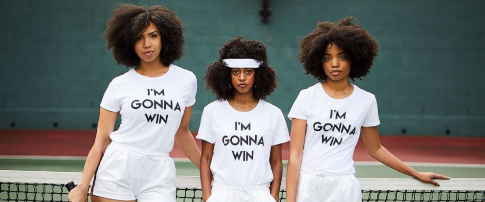 "PHOTO: A new campaign called ""Im gonna win"" seeks to honor Diana Ross on her 75th birthday with female black celebrities sharing images of themselves wearing shirts with the slogan on their front."