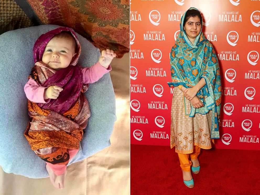 PHOTO: Liberty Wexler, 3 months, is seen here dressed as Pakistani activist, Malala Yousafzai.