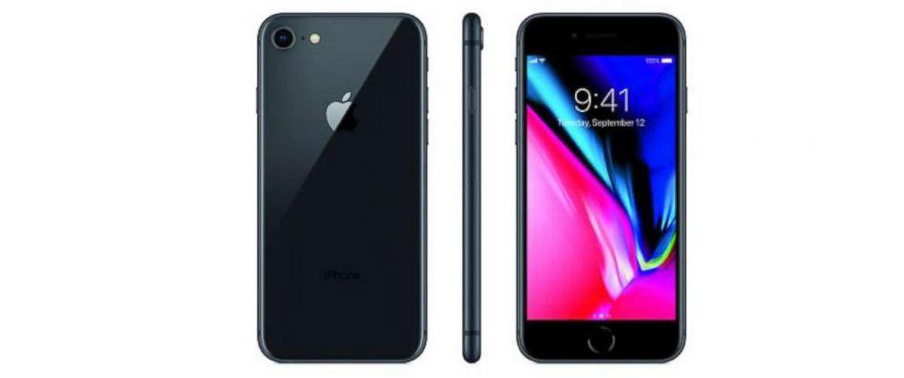 PHOTO: Simple Mobile Prepaid Apple iPhone 8.