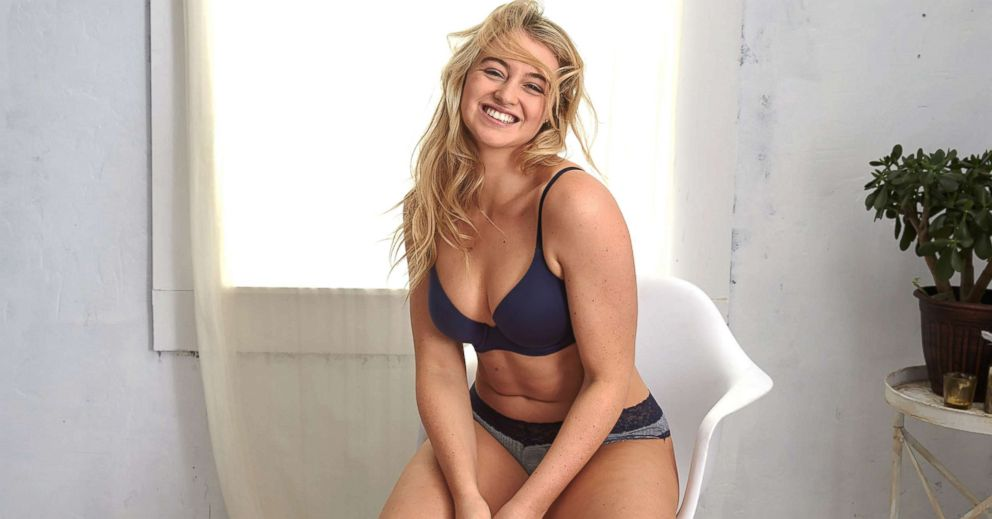 PHOTO: Model Iskra Lawrence uses her position as an Aerie Role Model to encourage self love and body acceptance.