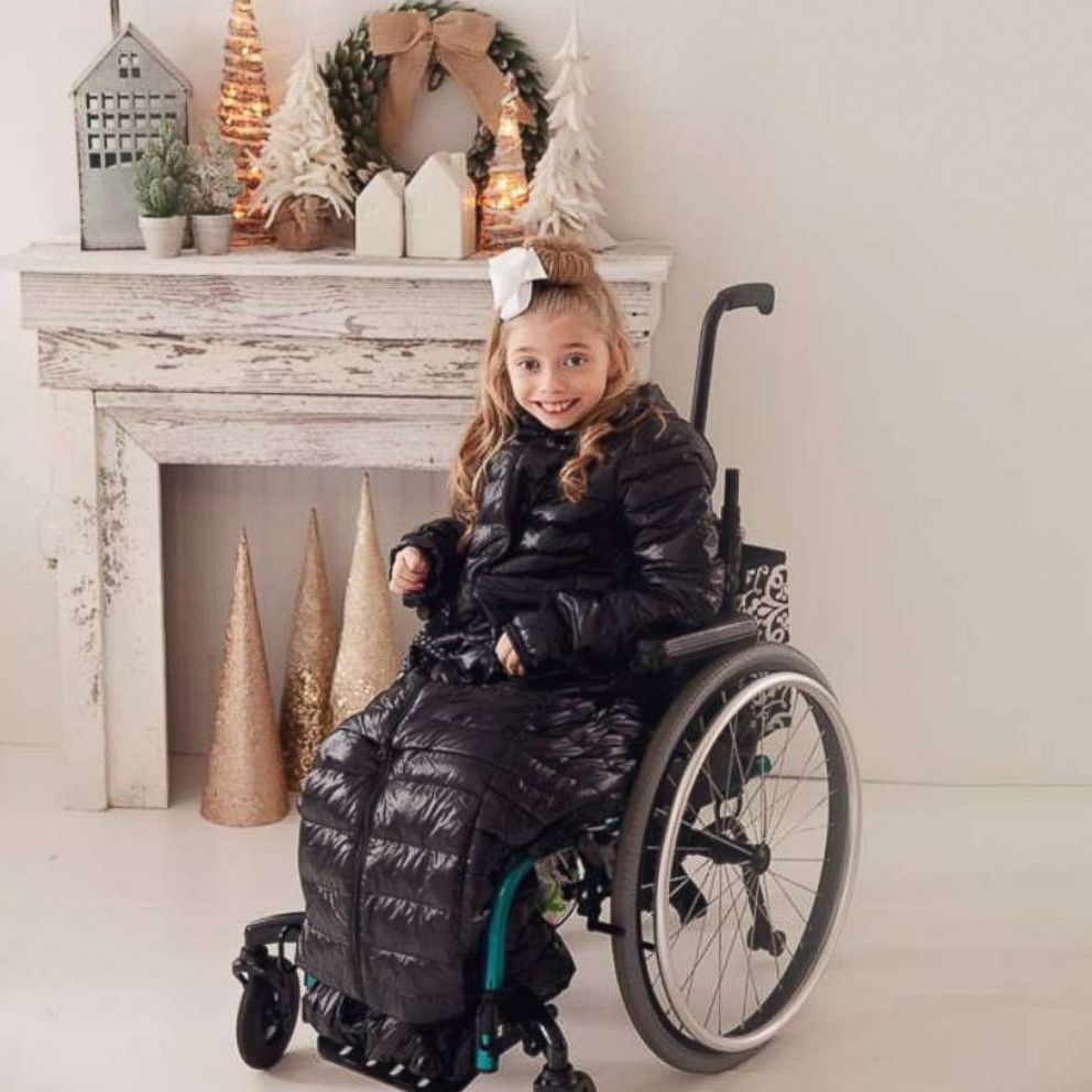 i saved recess girl in wheelchair stays warm outside thanks to