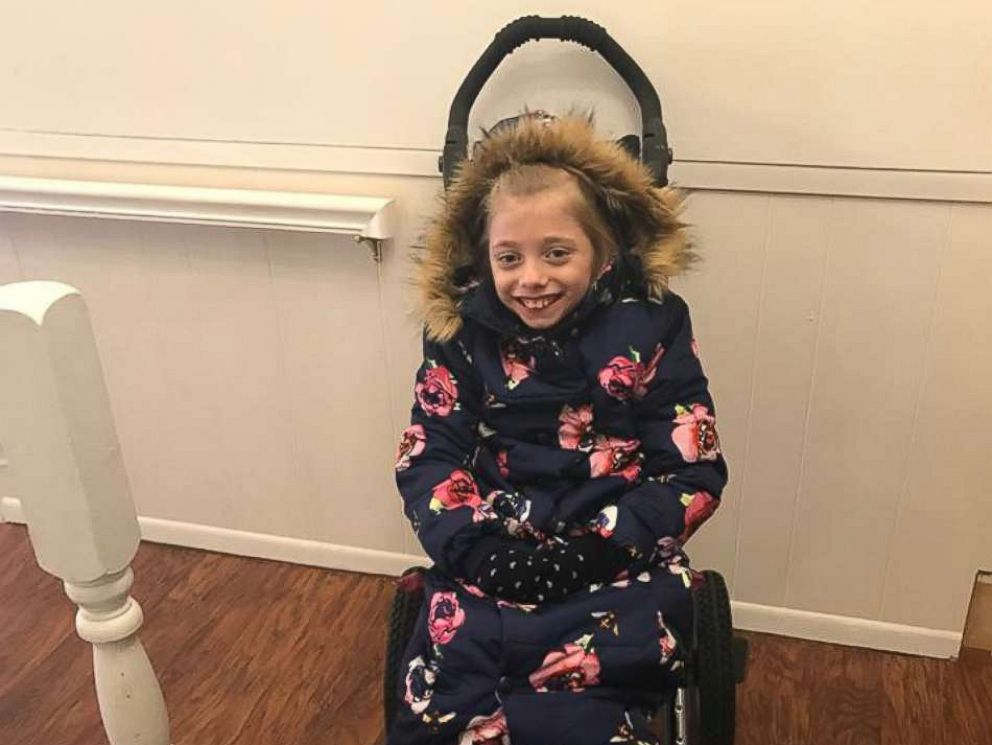 PHOTO: Mom Jennifer invented the Bodycoat--a garment specially made for people like her daughter Zoey who use a wheelchair daily.