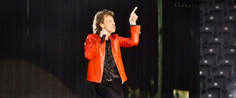 PHOTO: Mick Jagger of The Rolling Stones performs live on stage during a concert, June 22, 2018, in Berlin.