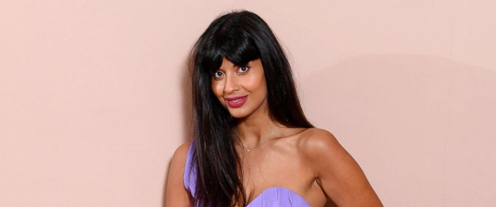 PHOTO: Jameela Jamil poses for a photo at an event in Kensington Palace, London, Feb. 17, 2018.
