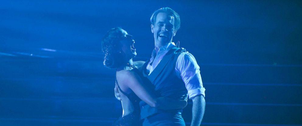 "PHOTO:Emma Slater and James Van Der Beek on ""Dancing With the Stars,"" Sept. 16, 2019."