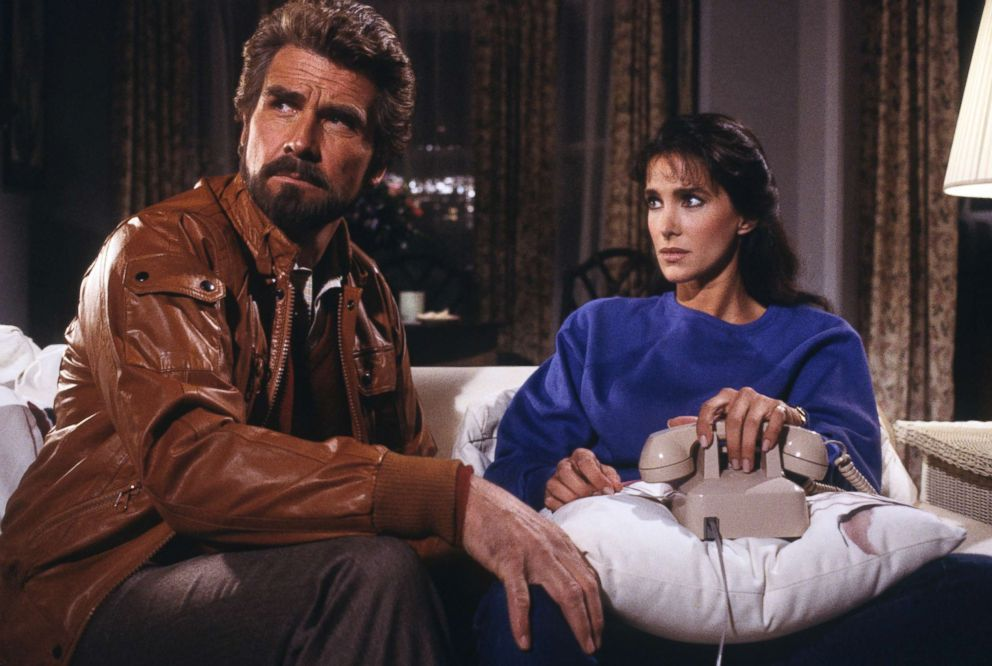 """James Brolin and Connie Sellecca star in the Jan. 30, 1985 episode of """"Hotel"""" on the ABC television network."""