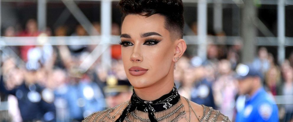 """PHOTO: James Charles attends the 2019 Met Gala, """"Celebrating Camp: Notes on Fashion,"""" at the Metropolitan Museum of Art on May 6, 2019, in New York."""
