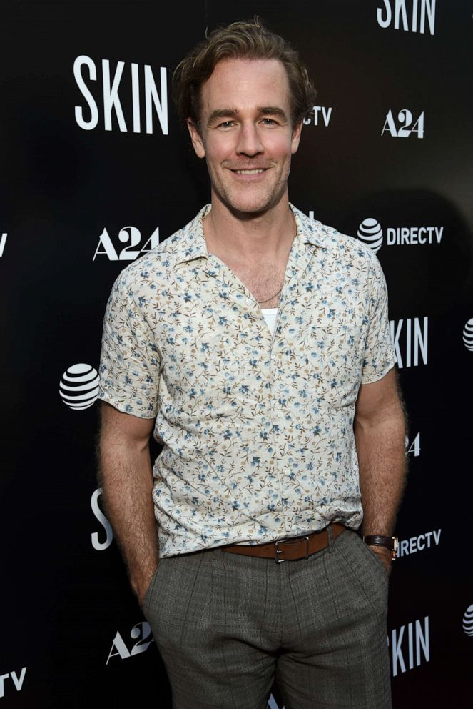 """PHOTO: James Van Der Beek attends the Los Angeles Special Screening of """"SKIN"""" at ArcLight Hollywood, July 11, 2019, in Hollywood, Calif."""