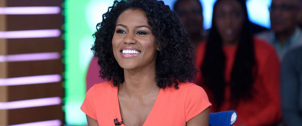 """PHOTO: Janai Norman is shown on the set of """"Good Morning America,"""" on April 29, 2019."""