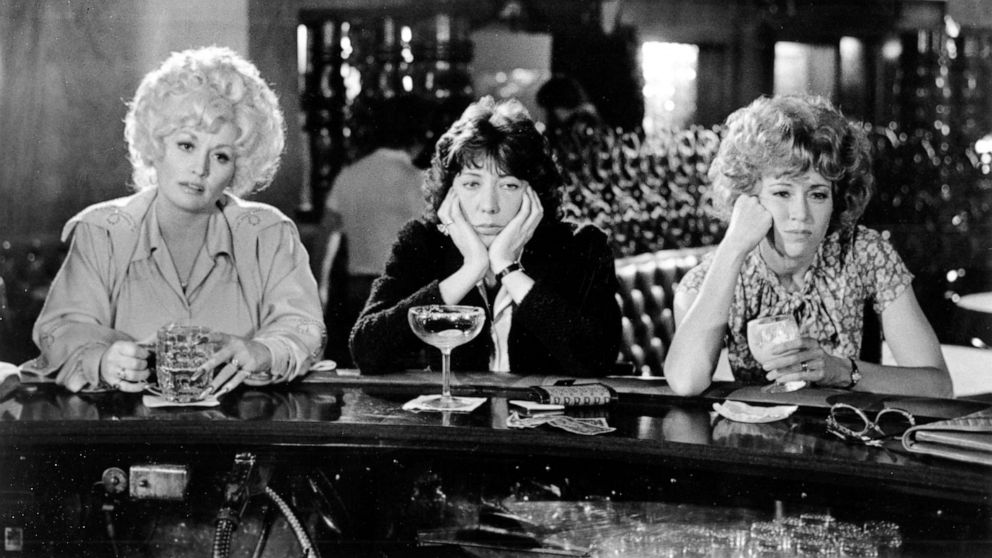 Dolly Parton reveals she, Jane Fonda and Lily Tomlin are 'pretty far down the road' working on the '9 to 5' sequel