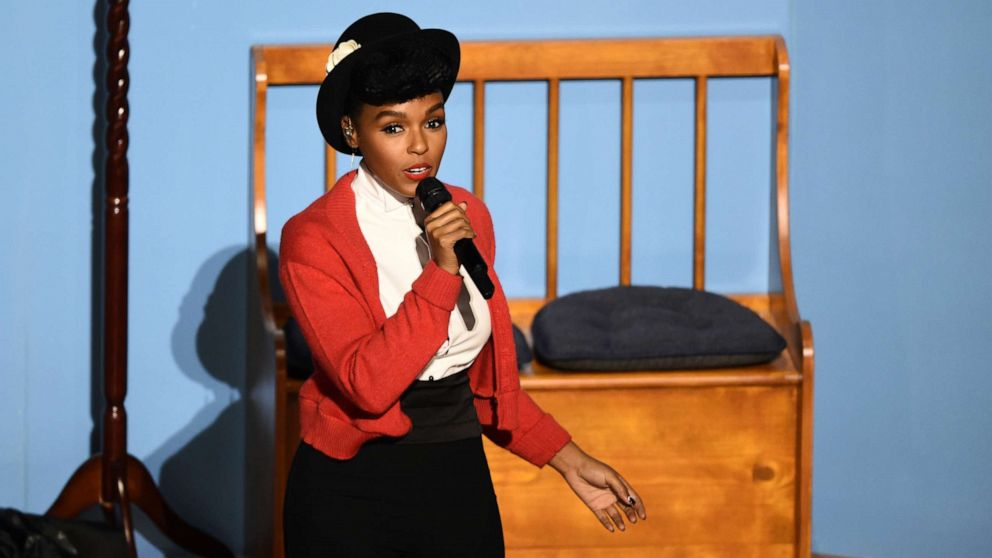 PHOTO: Janelle Monae performs during the Oscars show at the 92nd Academy Awards in Hollywood, Calif., Feb. 9, 2020.