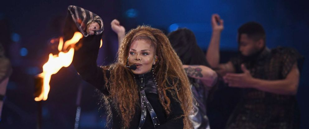 PHOTO: Janet Jackson performs on stage during the MTV EMAs 2018 at Bilbao Exhibition Centre on Nov. 4, 2018 in Bilbao, Spain.