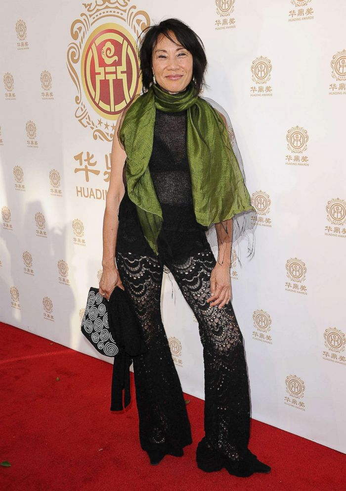 Producer Janet Yang attends the 2014 Huading Film Awards at The Montalban, June 1, 2014, in Hollywood, Calif.