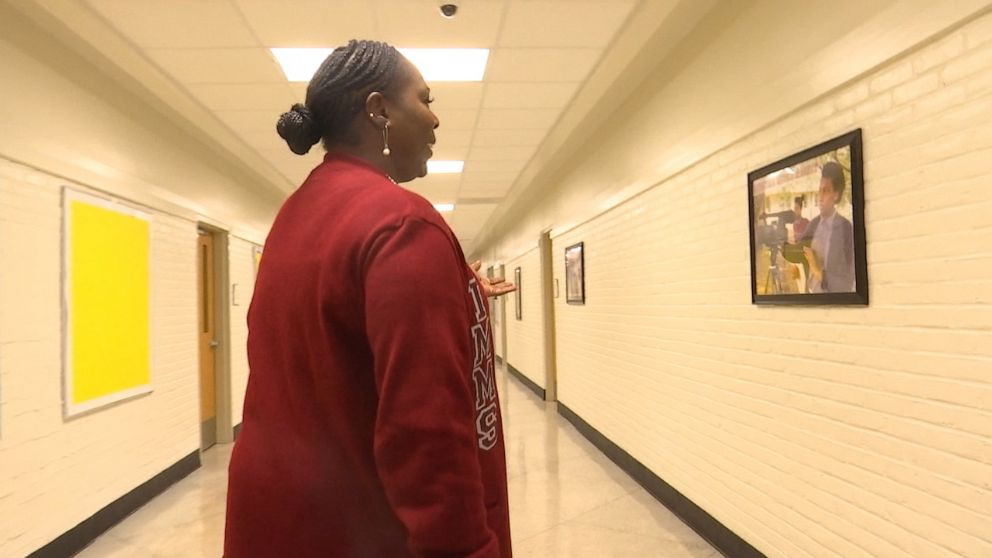 PHOTO: While working as a bus driver, Pam Talbert decided it was time to go to college. Her dream was to become an educator and help kids who were facing the same learning challenges she faced as a student.