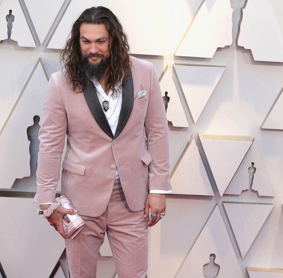 PHOTO: Jason Momoa attends the 91st Annual Academy Awards at Hollywood and Highland, Feb. 24, 2019, in Hollywood, Calif.
