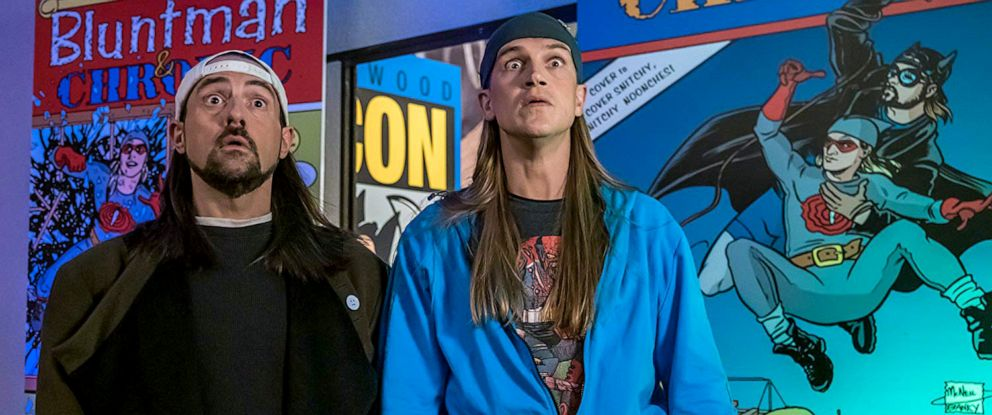 "PHOTO: A scene from ""Jay and Silent Bob Reboot."""