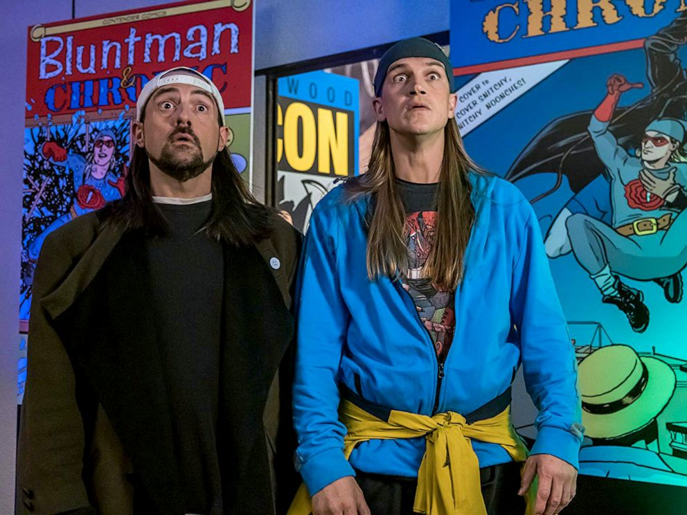 PHOTO: A scene from Jay and Silent Bob Reboot.