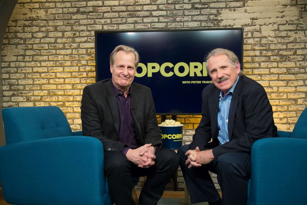 PHOTO: Jeff Daniels appears on Popcorn with Peter Travers at ABC News studios, April 30, 2019, in New York City.