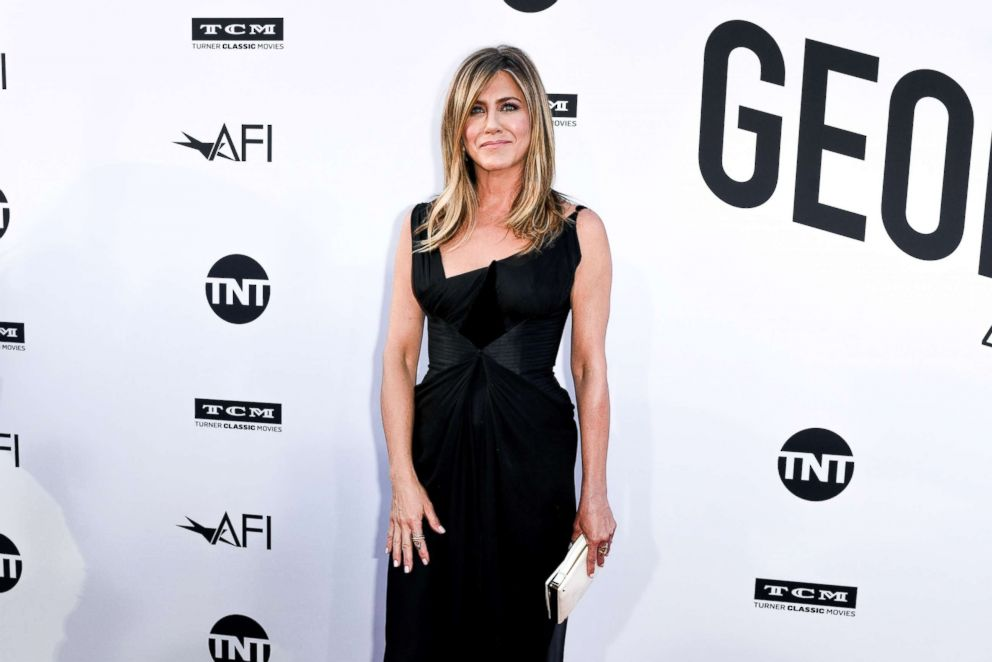 PHOTO: Jennifer Aniston attends the 46th AFI Lifetime Achievement award gala tribute, June 7, 2018, in Hollywood, Calif.