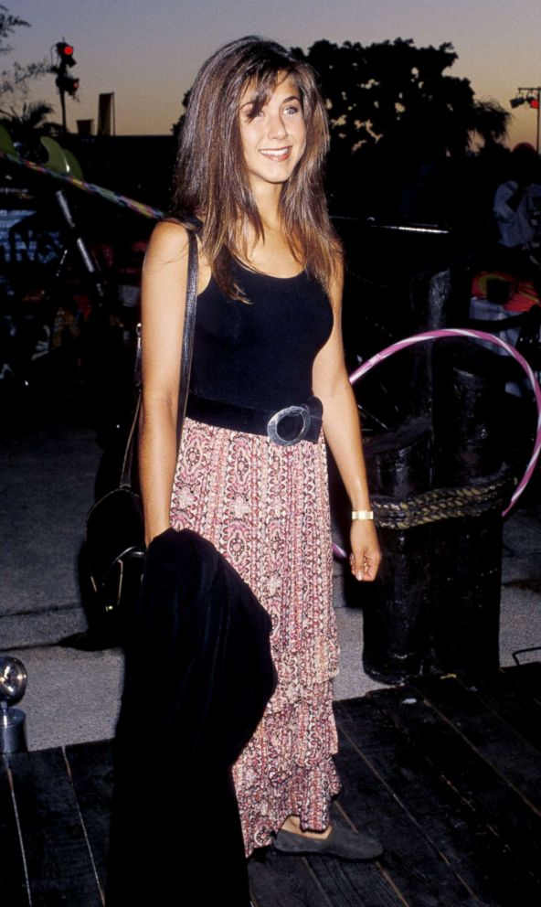 PHOTO: Actress Jennifer Aniston attends the NBC Television Summer Blast Party, July 19, 1990, at Century Plaza Hotel in Los Angeles.
