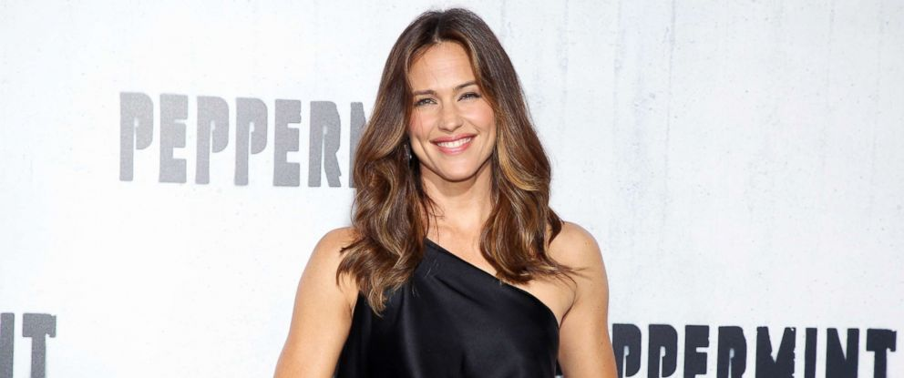 "PHOTO: Jennifer Garner attends the premiere of ""Peppermint"" on Aug.28, 2018, in Los Angeles"