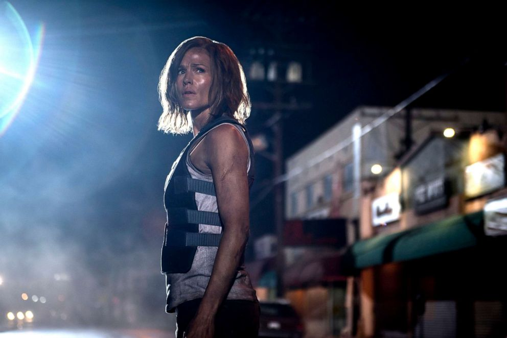 PHOTO: This cover image released by STXfilms shows Jennifer Garner in a scene from Peppermint.