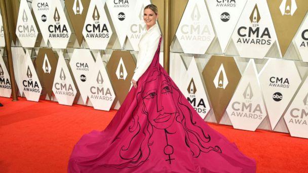 Jennifer Nettles makes powerful statement on gender equality with CMA Awards ensemble