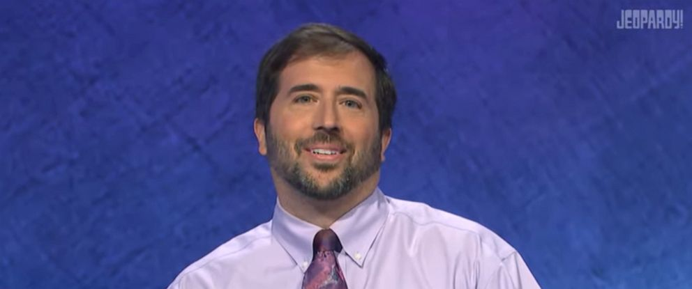 PHOTO: Jason Zuffranieri on Jeopardy!.