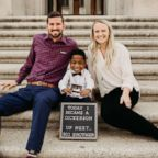 Jeremiah Dickerson, 4, was officially adopted on July 16, 2018.