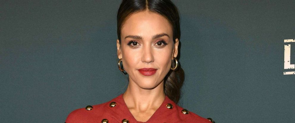 PHOTO: Jessica Alba arrives for the red carpet event of Spectrum Originals new drama L.A.s Finest at the Sunset Tower hotel, May 10, 2019, in West Hollywood.