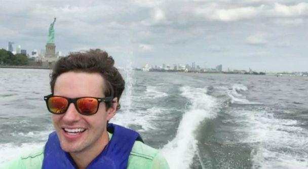 Meet the man who commutes via jet ski