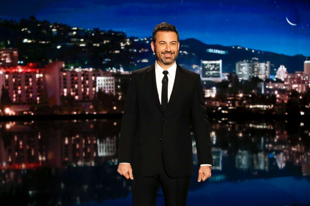 PHOTO: Jimmy Kimmel on Jimmy Kimmel Live! in Los Angeles, Oct. 11, 2018.