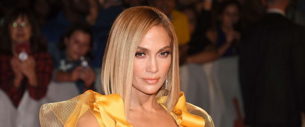 "PHOTO: Jennifer Lopez attends the premiere for ""Hustlers"" on day three of the Toronto International Film Festival at Roy Thomson Hall, Sept. 7, 2019, in Toronto."