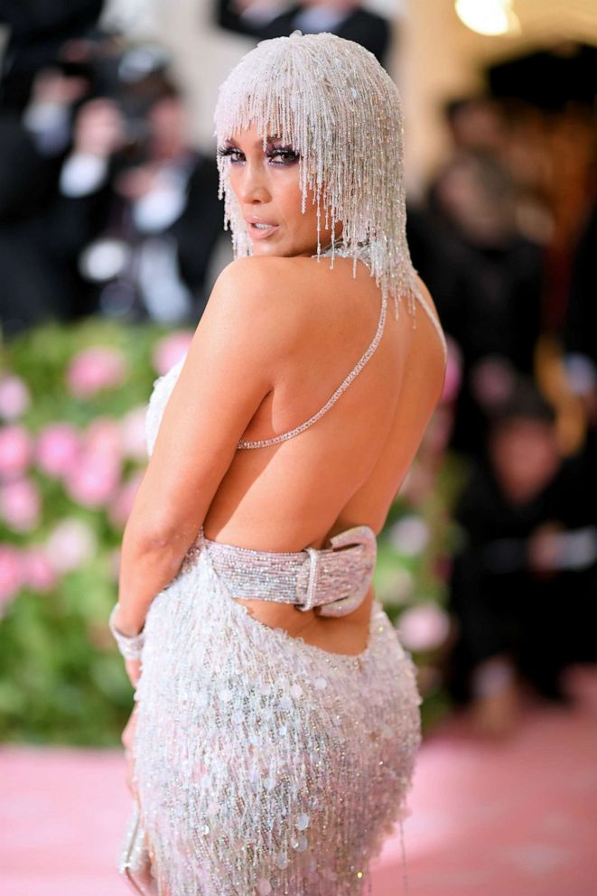 PHOTO: Jennifer Lopez attends the 2019 Met Gala Celebrating Camp: Notes on Fashion at the Metropolitan Museum of Art, May 6, 2019, in New York City.