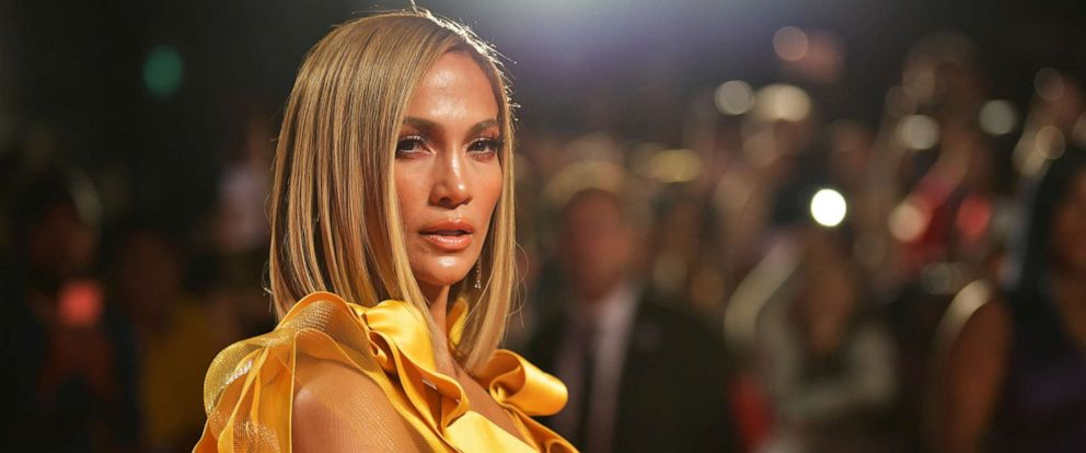 "PHOTO: Jennifer Lopez attends the ""Hustlers"" premiere during the 2019 Toronto International Film Festival at Roy Thomson Hall on Sept. 7, 2019 in Toronto."