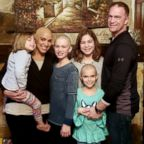 Joanna McPherson of Shreveport, Louisiana, is seen in Jan. 2019 with her husband, Shawn McPherson and their daughters Alexa, 11, Kayla, 10, Sophia, 7, and Jocelyn, 4.