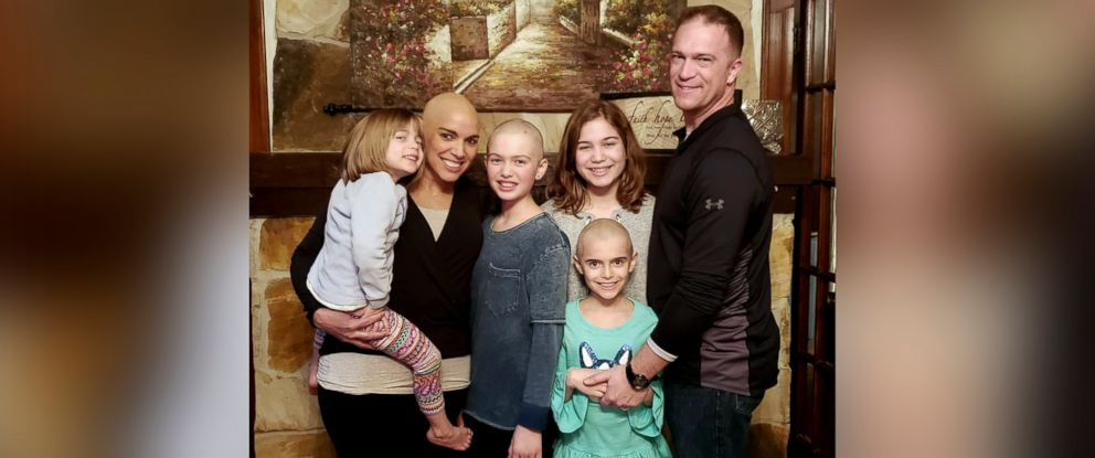 PHOTO: Joanna McPherson of Shreveport, Louisiana, is seen in Jan. 2019 with her husband, Shawn McPherson and their daughters Alexa, 11, Kayla, 10, Sophia, 7, and Jocelyn, 4.