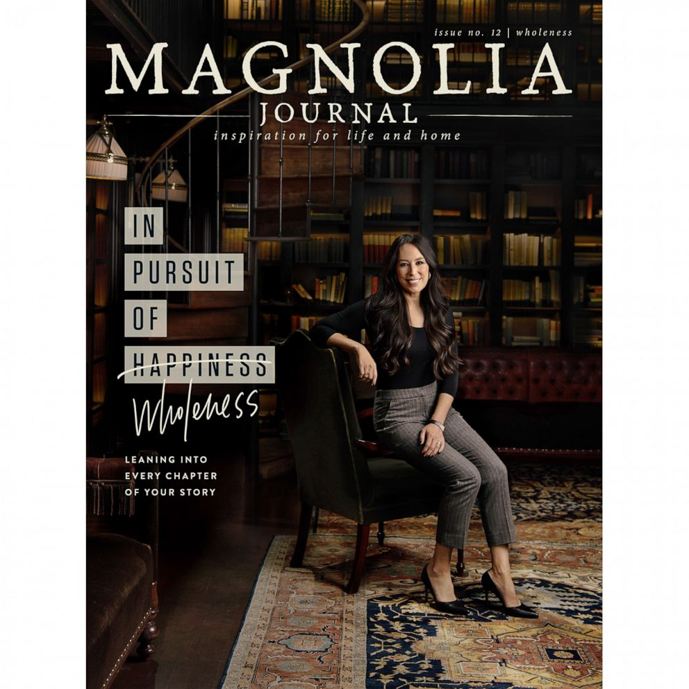 "PHOTO: Joanna Gaines graces the cover of issue 12 of ""Magnolia Journal."""