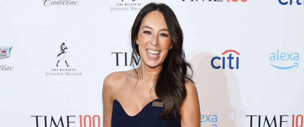 PHOTO: Joanna Gaines attends the TIME 100 Gala 2019 Cocktails at Jazz at Lincoln Center, April 23, 2019, in New York City.