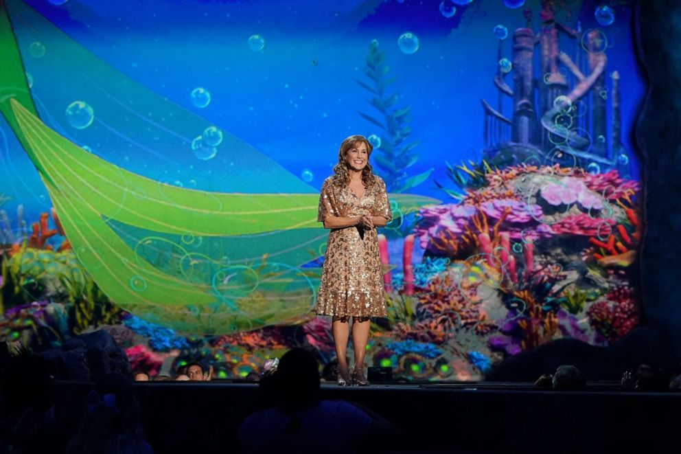 PHOTO: Jodi Benson performs during the spectacular, live musical event showcasing The Little Mermaid on ABC.