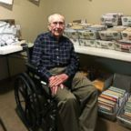 Brookdale Midwestern retirement community in Wichita Falls, Texas posted a photo of their resident, Joe Cuba, asking for 100 cards for his 100th birthday, and he received thousands from people around the world.