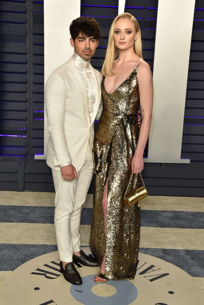 PHOTO: Joe Jonas and Sophie Turner attend the 2019 Vanity Fair Oscar Party hosted by Radhika Jones at Wallis Annenberg Center for the Performing Arts, Feb. 24, 2019, in Beverly Hills, Calif.