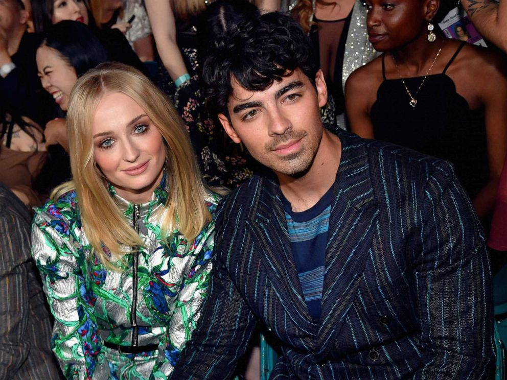 PHOTO: Sophie Turner and Joe Jonas attend the 2019 Billboard Music Awards at MGM Grand Garden Arena on May 1, 2019 in Las Vegas.